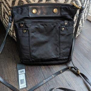 Marc Jacobs Sia Black nylon crossbody $119
